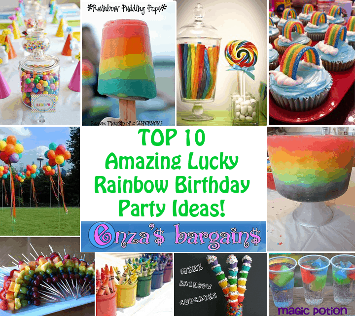 Rainbow Party Ideas Top 10 Perfect For Birthday Schools