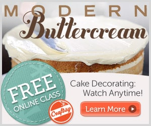Cake Decorating Classes Free : Craftsy: FREE Online Modern Buttercream Cake Decorating ...