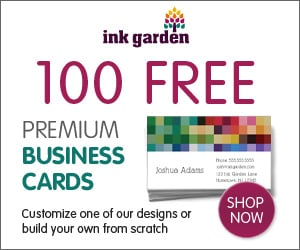 Create Your Own Single Double Sided PREMIUM Business