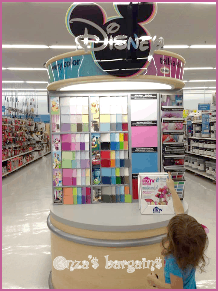 disney glidden paint instant room makeover for less than