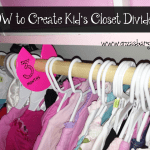 How to Make Closet Dividers for your Clothes