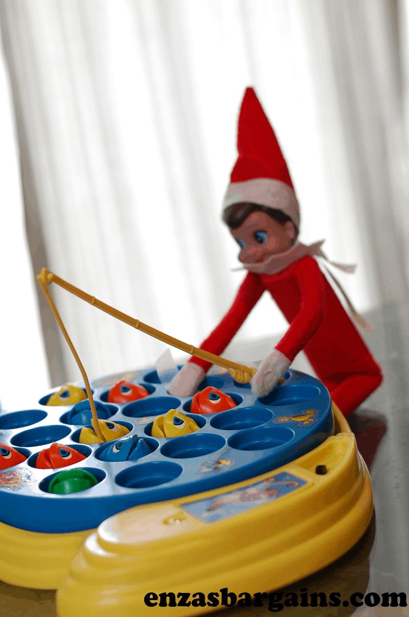 Elf on the shelf ideas part 5 for Elf on the shelf fishing