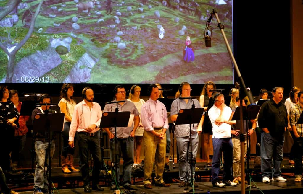 Recording at Warner - Frozen choir 270_R