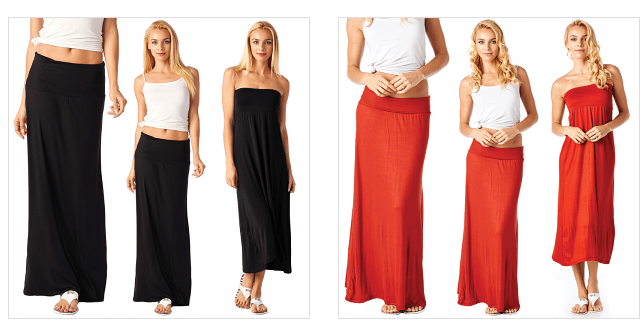 USA Maxi Skirt/Dress Blow Out: As low as $11 Shipped - Reg. $40 ...