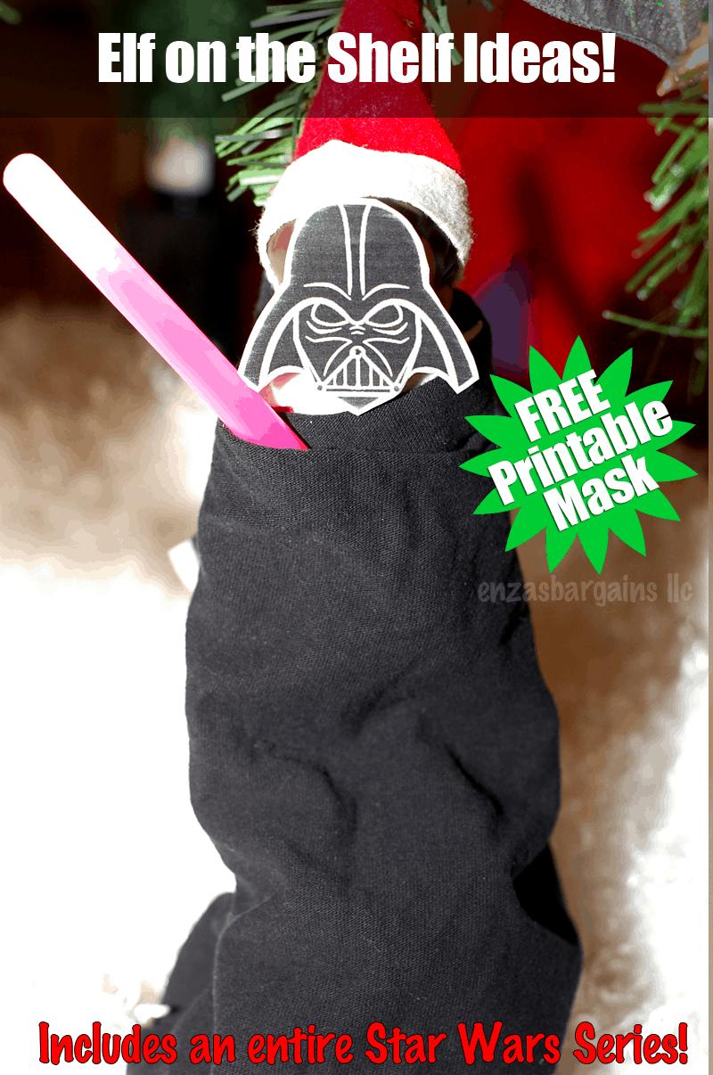 ... 1206 png 1285kB, Elf on the Shelf Star Wars: FREE Printable & Ideas