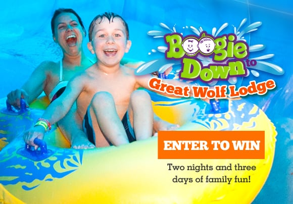 Win Great Wolf Lodge 2015 Enter to Win The Great Wolf
