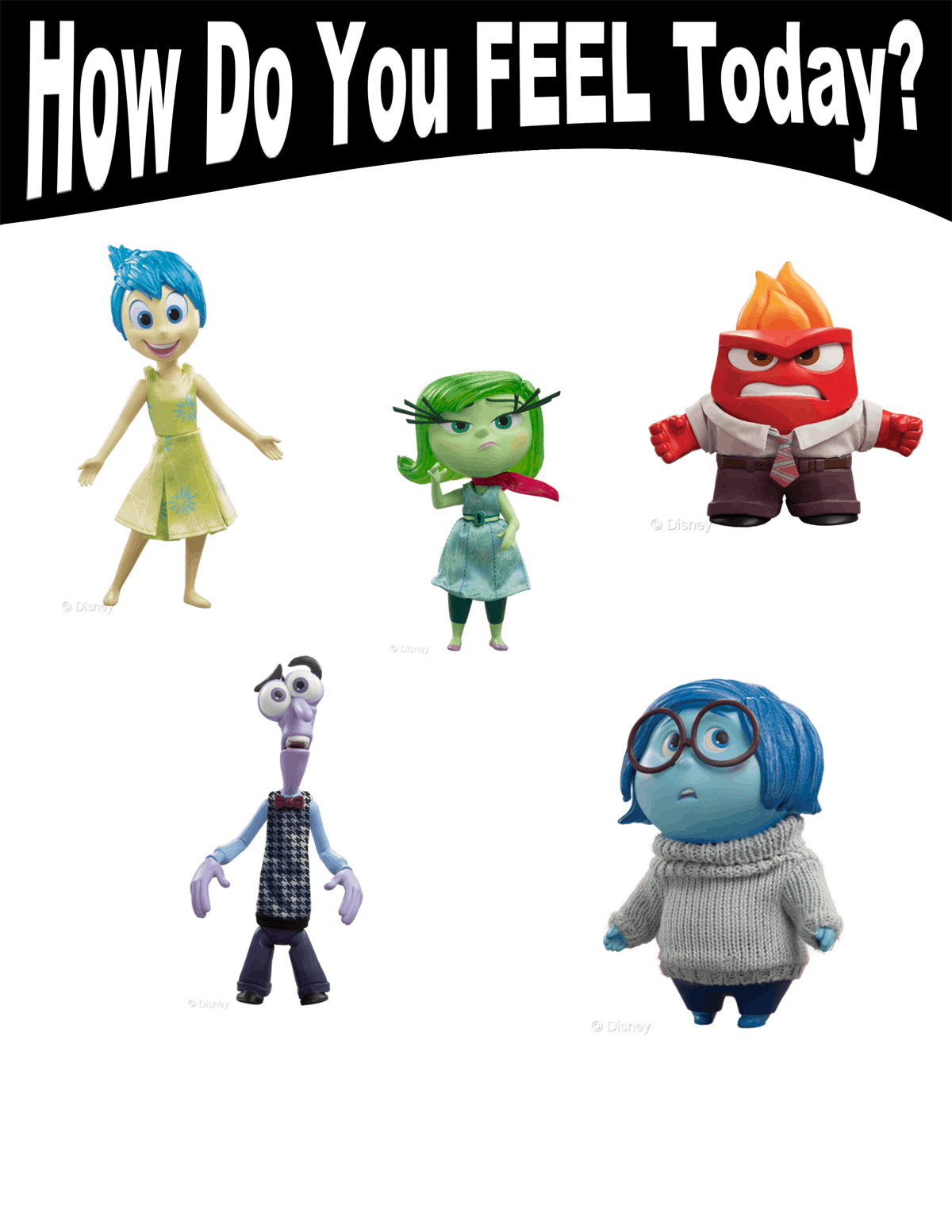 Image Gallery Inside Out Emotions Chart