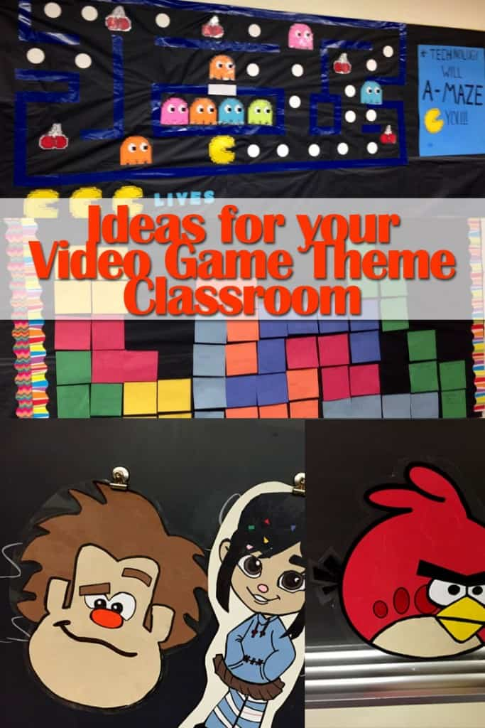 Classroom Game Ideas ~ Video game theme classroom