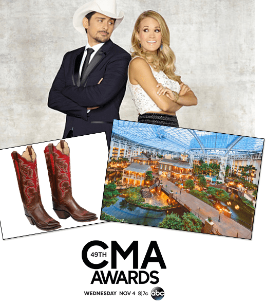 ENTER TO WIN CMA Tickets, Travel
