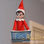 Elf on the Shelf Aladdin Flying Carpet!