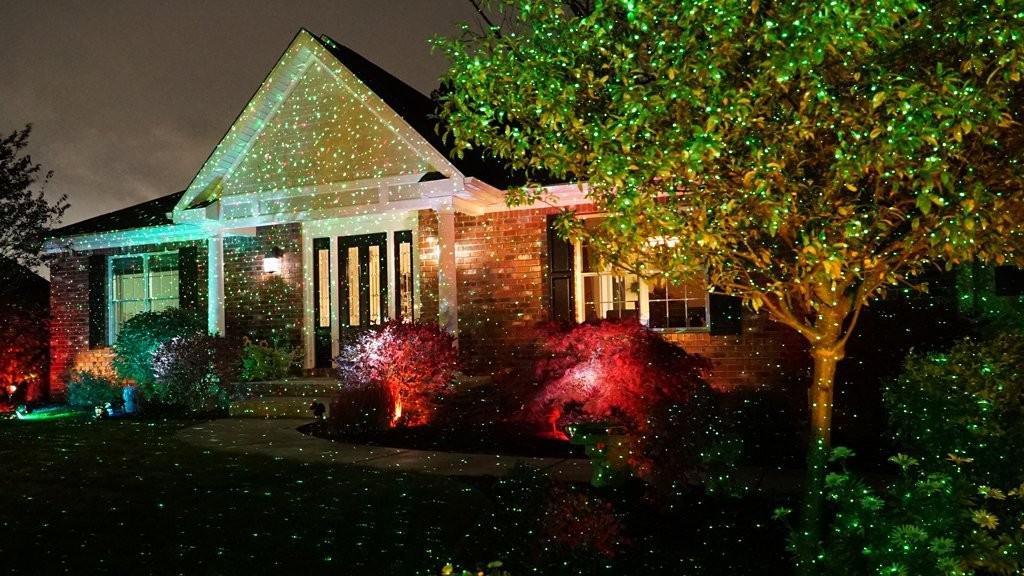 star shower laser light christmas laser lights it looks