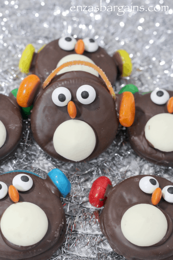 Adorable Penguin Oreo Cookies With Ear Muffs Recipe