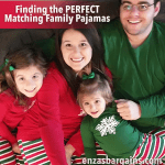 Matching Family Pajamas – Red and Green Striped SleepyHeads Jammies