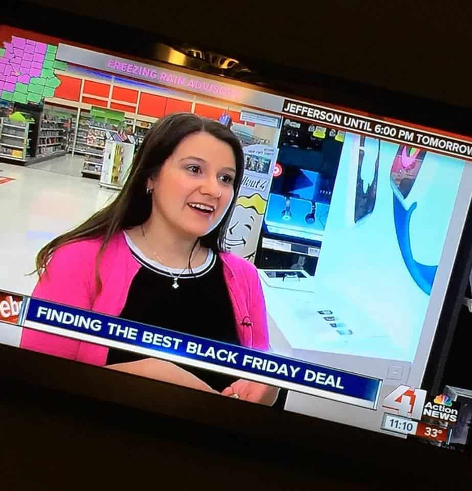 Holiday Shopping With Your Smart Phone - Black Friday TV Segment With 41 Action News