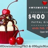 Giveaway: $400 via PayPal (Ends 2/15)
