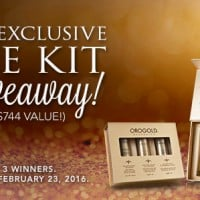 Giveaway: 24K Exclusive Eye Care Kit (Ends 2/22)