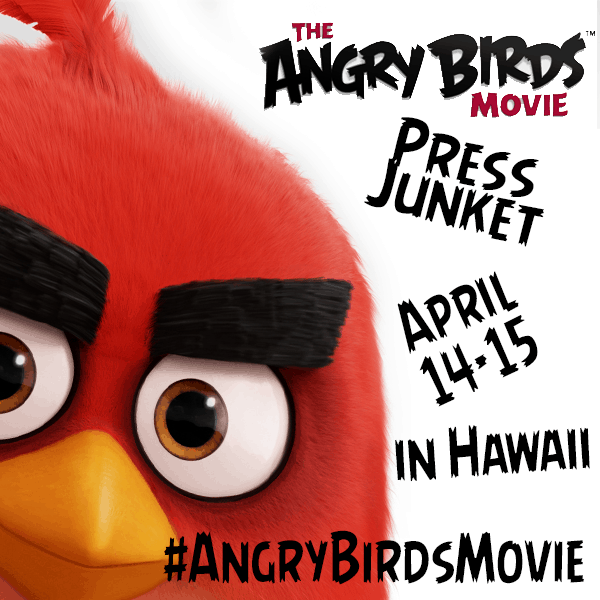 Angry Birds Movie Junket in Hawaii