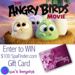 Angry Birds Movie Giveaway – $100 SpaFinder Gift Card for Mother's Day