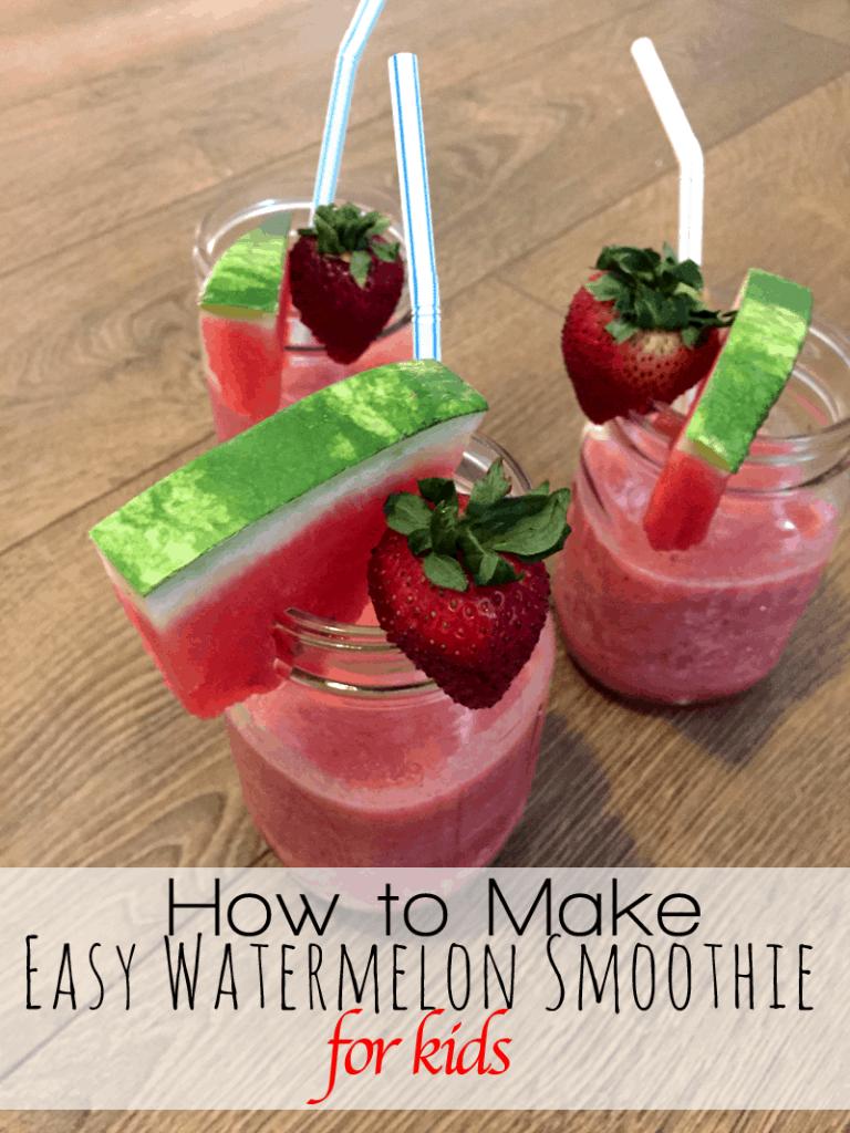 Watermelon Strawberry Smoothie Recipe Enzasbargains Com