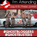 Ghostbusters Press Junket – I am ATTENDING!