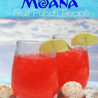 Disney Moana Recipe - Fruit Punch