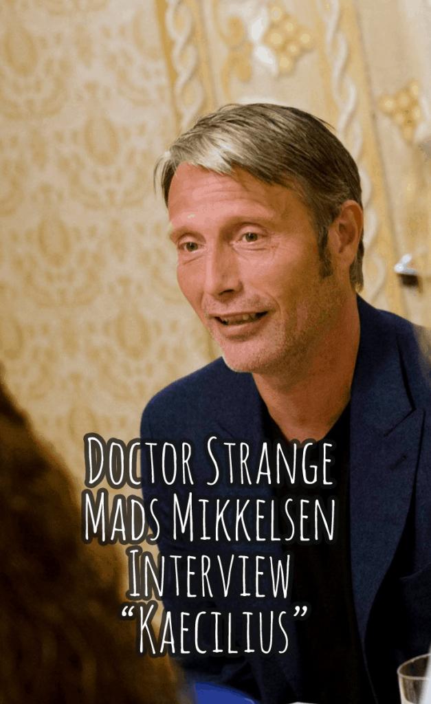 """Doctor Strange Mads Mikkelsen Interview - """"Kaecilius ..."""