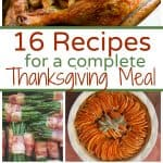 Thanksgiving Meal Ideas and Recipes
