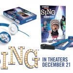 SING Movie Prize Pack Giveaway valued at $55