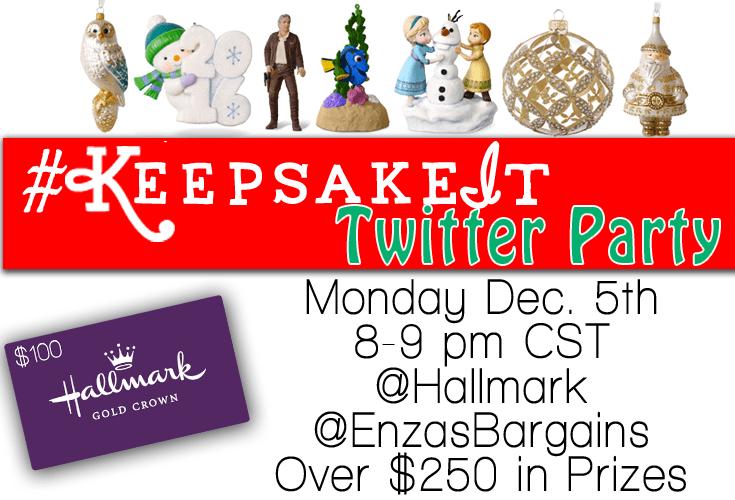 Hallmark Keepsake Ornaments Twitter Party