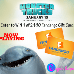 Monster Trucks Movie Activities, Coloring Sheets, & Fandango Gift Card Giveaway!