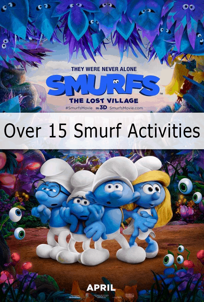 Smurfs Activities
