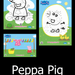 Peppa Pig Activities – FREE Printable Coloring Sheets and MORE!