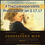 The Zookeeper's Wife Press Junket in New York #TheZookeepersWife