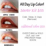 LipSense Colors In Stock For Pre-order