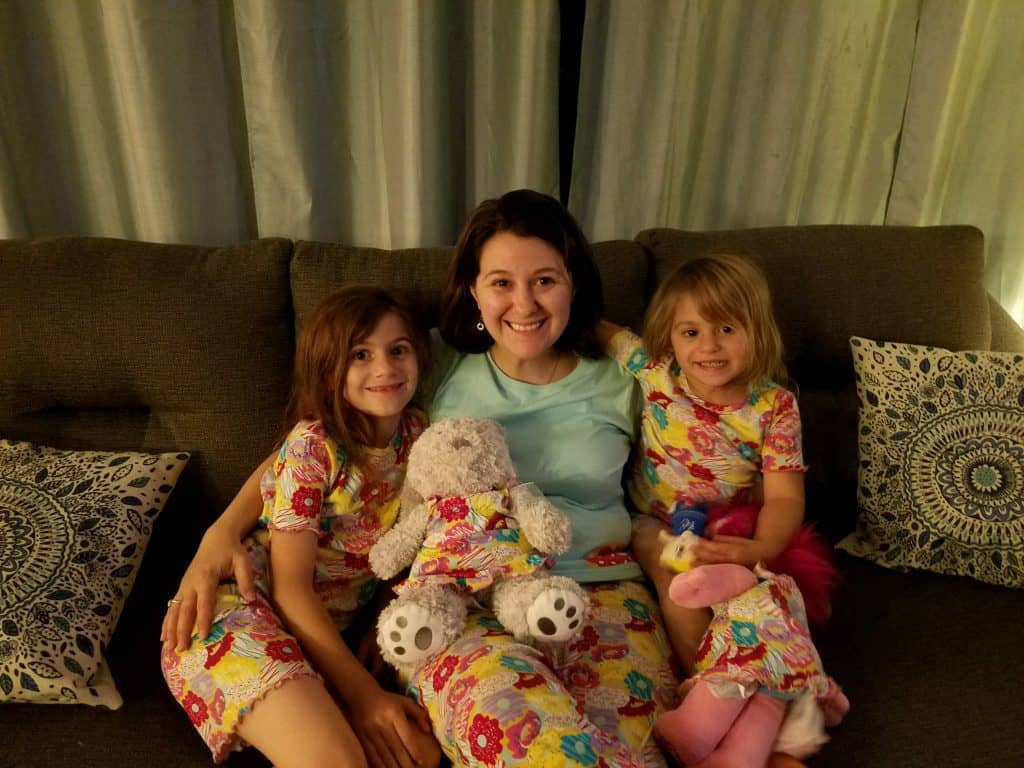 Matching Donut Pajamas for National Donut Day 2017