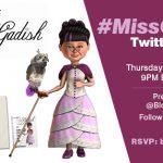 Miss Gadish Twitter Party RSVP HERE! #MissGadish
