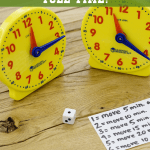 Rush Hour Game – How to TEACH Kids How to Tell Time!