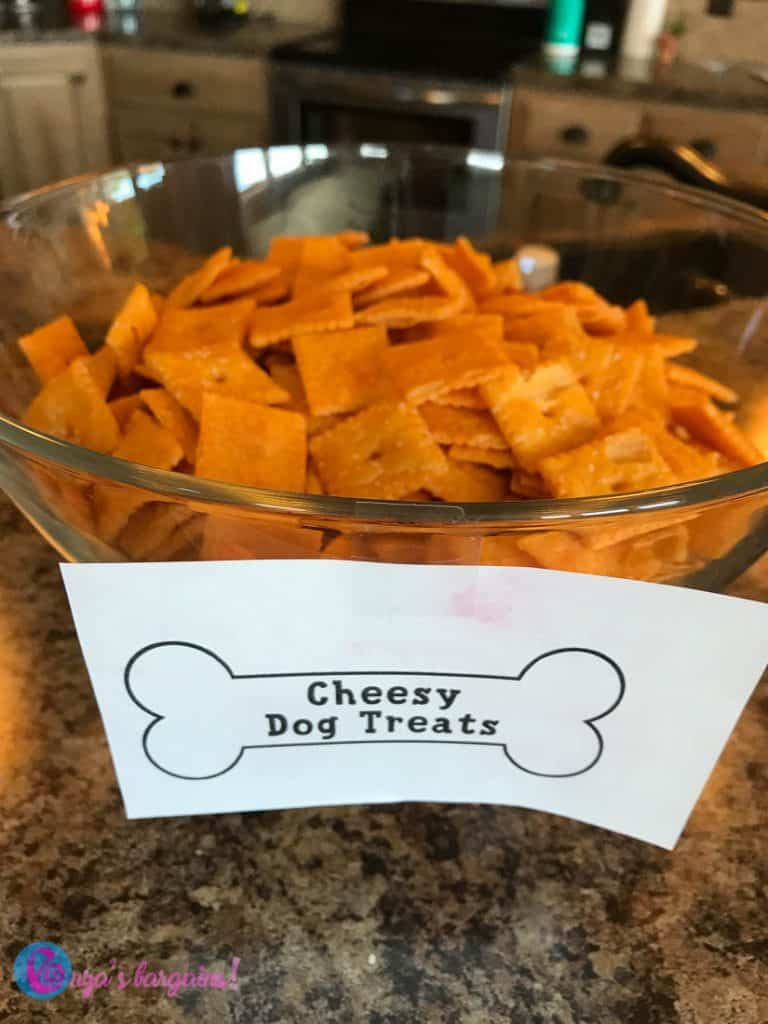 Dog Themed Party Food and Party Ideas