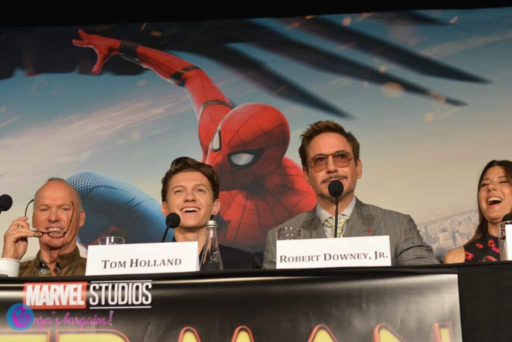 Spider-Man Homecoming Press Junket
