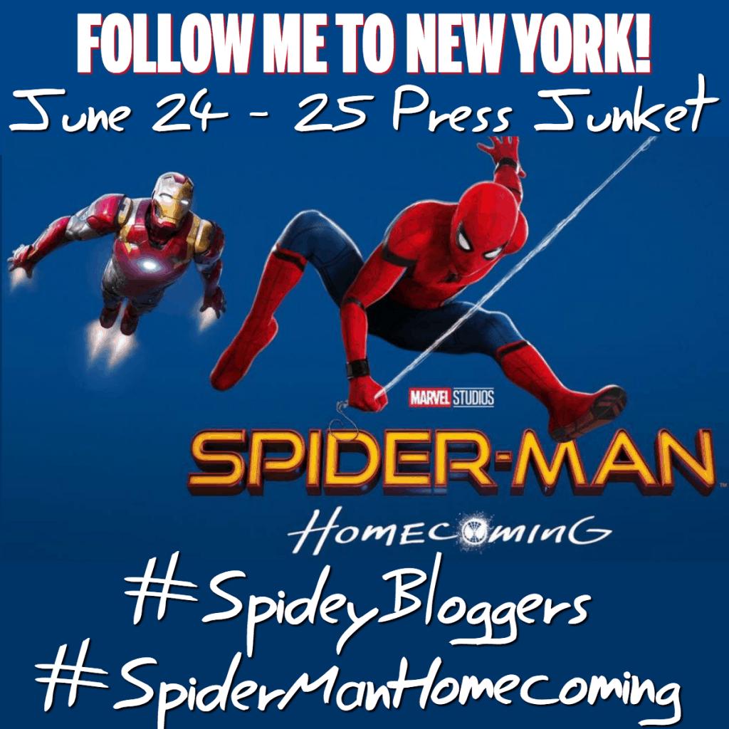 Spider-Man Homecoming Press Junket New York!  #SpideyBloggers #SpiderManHomecoming