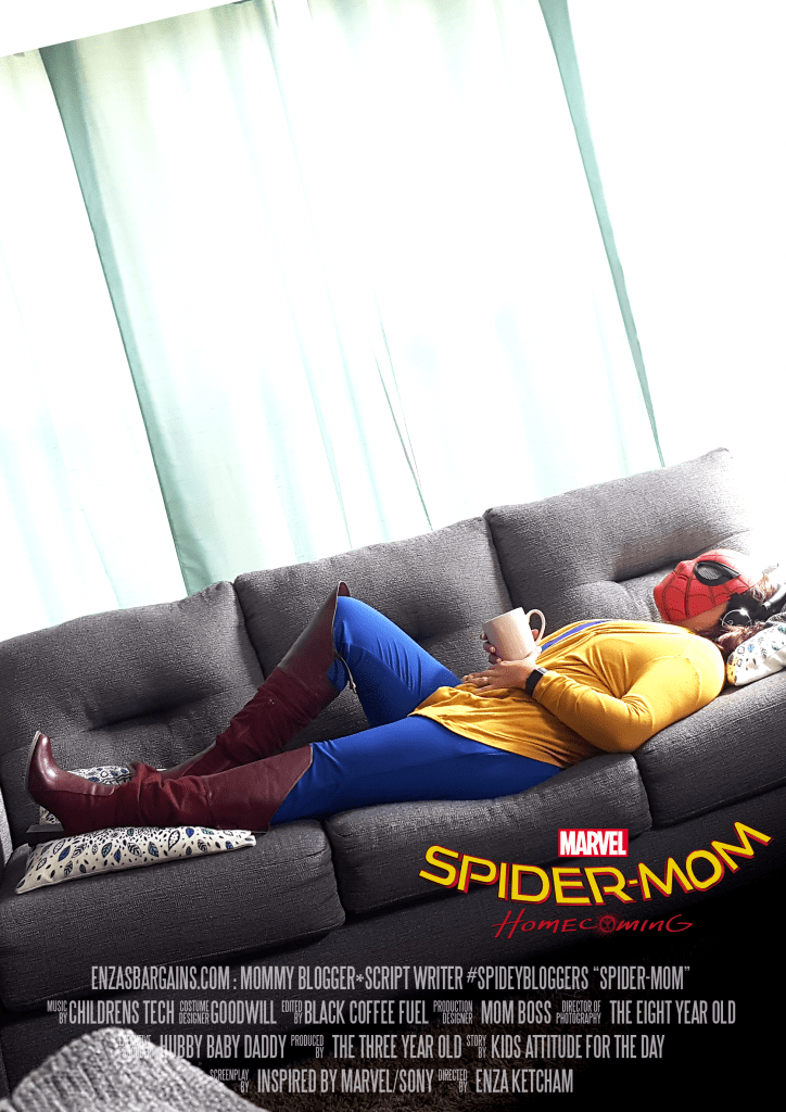 Spider-Mom Homecoming - When you are mom and you love yourself some Marvel!